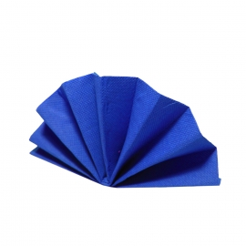 Ubrousky DEKOSTAR (PAP)  40 x 40 cm - tmavě modré