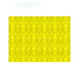 Papírové prostírání  30 x 40 cm -  žluté