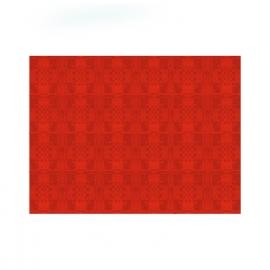 Papírové prostírání  30 x 40 cm - červené