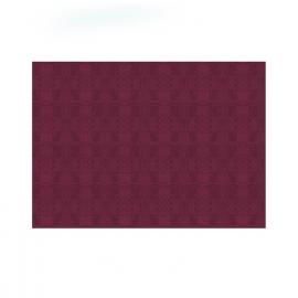 Papírové prostírání  30 x 40 cm -  bordové