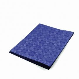 Papírový ubrus skládaný (PAP) 1,80  x 1,20 m  -  tmavě modrý