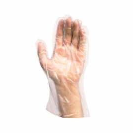 Rukavice na jedno použití (PE-LD)  - pro ženy