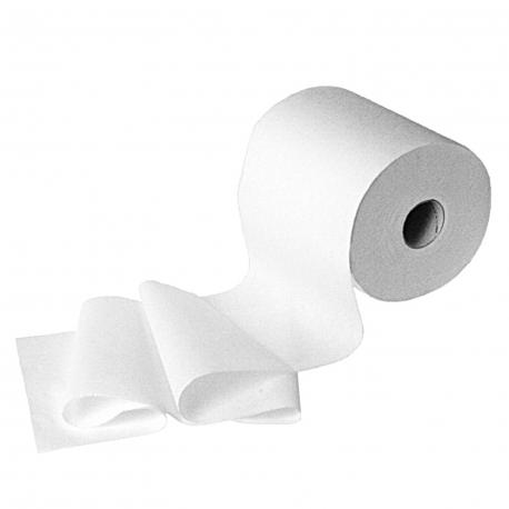 Ručníky tissue, rolované 2-vrstvé, bílé  Ø 18 cm (PAP - 100% celulóza)