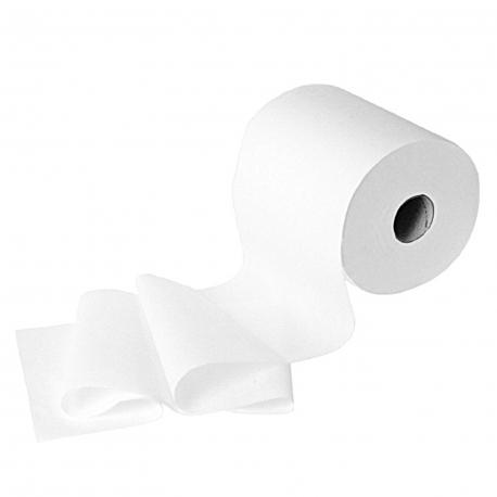 Ručníky tissue, rolované  3-vrstvé, bílé  Ø 18 cm (PAP - 100% celulóza)
