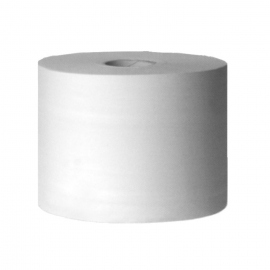 Průmyslové utěrky tissue 2-vr., s ražbou, s perforací 38 cm-bílé (PAP - 100% celulóza)