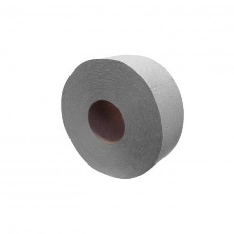 Toaletní papír 1-vrstvý, JUMBO  Ø 19 cm, 130 m - natural (PAP - recykl)