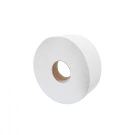 Toaletní papír 2-vrstvý, JUMBO  Ø 18 cm,100 m - bílý  (PAP - 100% celulóza)