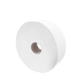 Toaletní papír 2-vrstvý, JUMBO  Ø 26 cm, 220 m - bílý  (PAP - 100% celulóza)