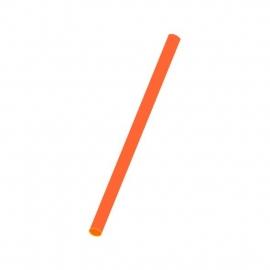 Slámky oranžové  (PP)   Ø 8 mm x 25 cm (JUMBO)