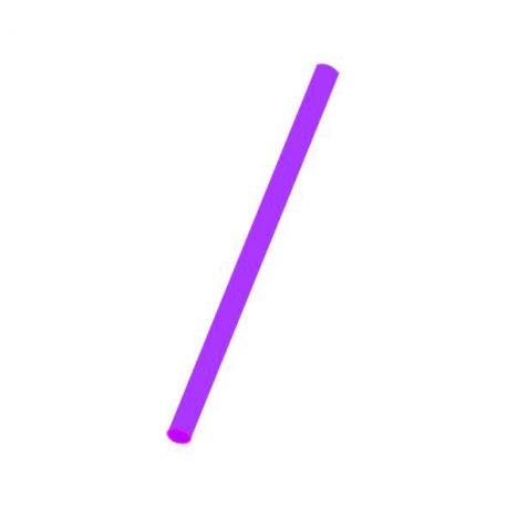 Slámky  fialové (PP)   Ø 8 mm x 25 cm (JUMBO)