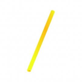 Slámky   žluté  (PP)   Ø 8 mm x 25 cm (JUMBO)