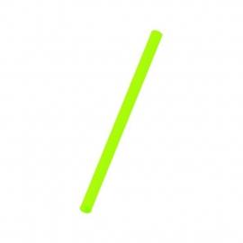 Slámky  zelené   (PP)   Ø 8 mm x 25 cm (JUMBO)
