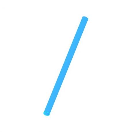 Slámky  modré  (PP)   Ø 8 mm x 25 cm (JUMBO)