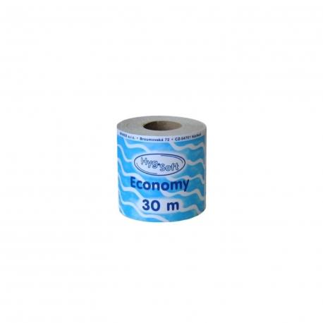 Toaletní papír 1-vrstvý, natural (PAP) Ø 10 cm, 30 m