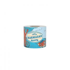Toaletní papír 1-vrstvý, 400 útržků, natural (PAP - Recykl)  Harmasan 50 m