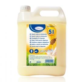 """Tekuté mýdlo do dávkovače """"Mléko & Med""""  5 L"""