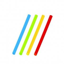Slámky koktejlové barevné mix (PP)   Ø 5 mm x 13 cm