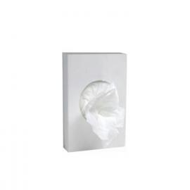 Hygienické sáčky bílé (HDPE) 8+6 x 25 cm