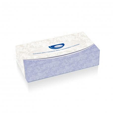 Kosm. utěrky 2-vrstvé v boxu (PAP - 100% celulóza)