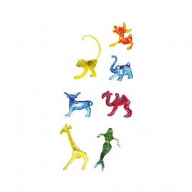Deko figurky mix (7 druhů)  (PS)   30 - 50 mm