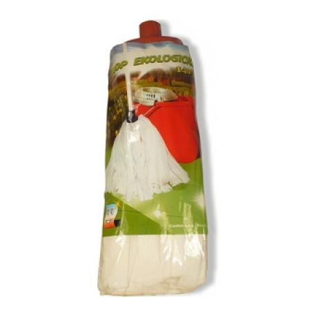 Náhradní mop proužky FAVE bavlna bílá 140g
