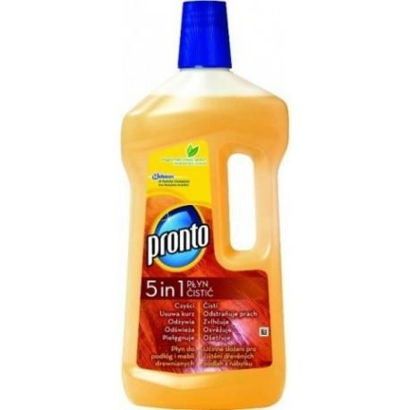 Pronto mýdlový čistič na dřevo 5v1 limpiador  750 ml
