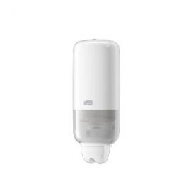 Tork dávkovač tekutého a sprej mýdla 1L  - plast bílý   S1/S11