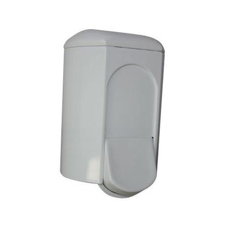 Dávkovač tekutého mýdla 0,35L - plast bílý - A&T