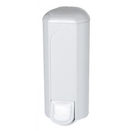 Dávkovač tekutého mýdla 0,8L - plast bílý - A&T