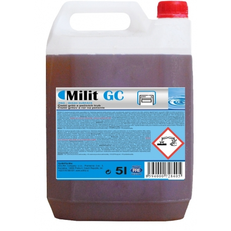MILIT GC čistič grilů, pečících trub, sporáků, konvektomatů