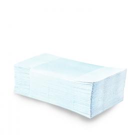 Papírové ručníky skládané ZZ , 2-vrstvé, bílé (PAP - recykl)