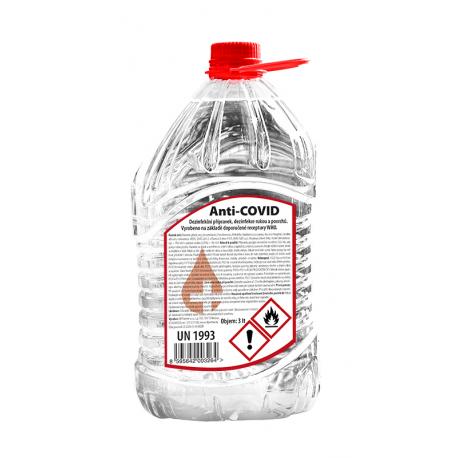 ANTI-COVID dezinfekce na ruce - PET 10L