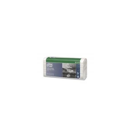 Utěrky čisticí Tork Long-Lasting, 90 útržků, 42,8 x 35,5 cm, skládané, bílé