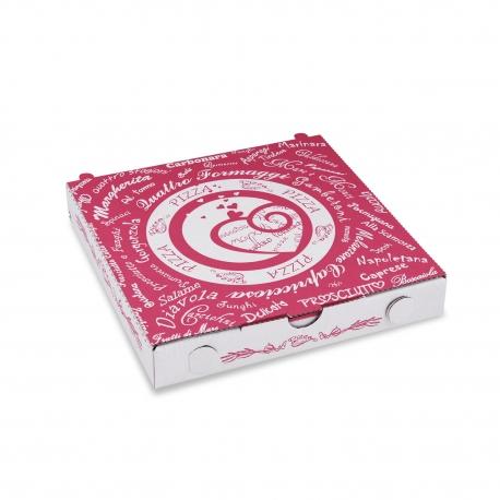 Krabice na pizzu z vlnité lepenky   (PAP) 20 x 20 x 3 cm