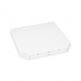 Krabice na pizzu -extra pevná- bílá   (PAP) 30 x 30 x 3 cm