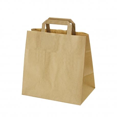 Papírové tašky hnědé (PAP) 32 x 21 x 27 cm