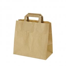 Papírové tašky hnědé (PAP)  32 x 17 x 25 cm