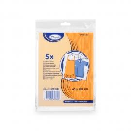 Chrániče oděvů (HDPE)  65 x 100 cm