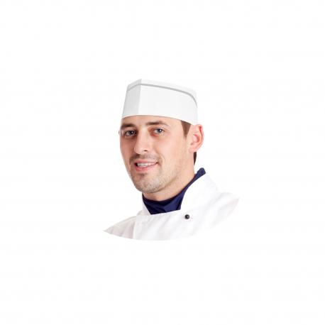 Kuchařské čepice z papíru, lodičky bílé