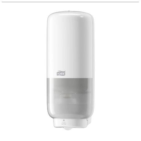 Tork dávkovač pěnového  mýdla 1L - plast bílý -senzor  S4