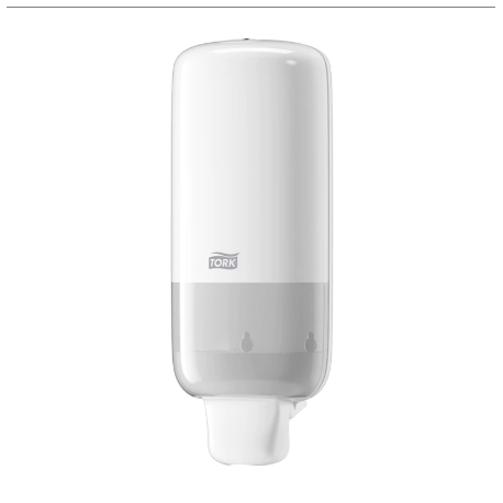 Tork dávkovač pěnového  mýdla 1L - plast bílý  S4