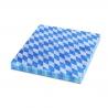 Ubrousky papírové 1vrst.  33 x 33 cm KARO - BAVORSKO modré