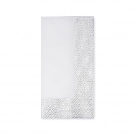 Ubrousky  2 vrst. (PAP)  40 x 40 cm  1/8 sklad. - bílé