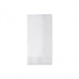 Ubrousky 2vrst. (PAP)  33 x 33 cm   1/8 sklad - bílé