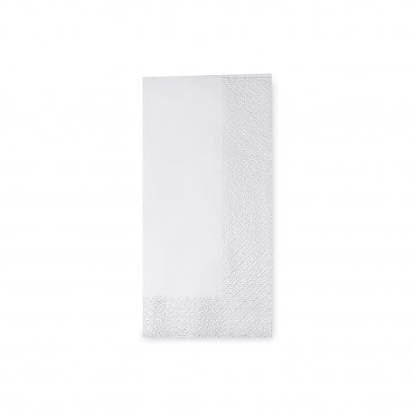 Ubrousky 3vrst. (PAP)  33 x 33 cm   1/8 sklad - bílé