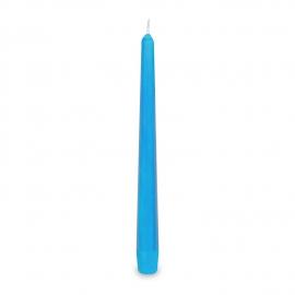 Svíčka kónická - světle modrá