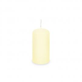 Svíčka válcová Ø 40 x 80 mm - béžová
