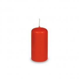 Svíčka válcová Ø 40 x 80 mm - červená
