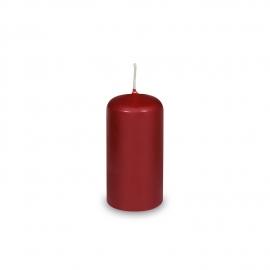 Svíčka válcová Ø 40 x 80 mm - bordová