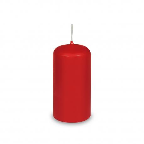 Svíčka válcová Ø 50 x 100 mm - červená